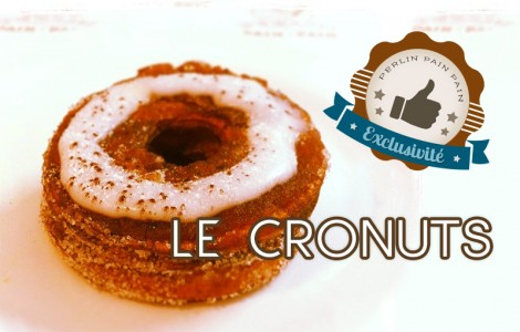 Exclusivité Perlin pain pain : Le Cronuts